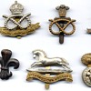 Army and Civilians badges of WW2