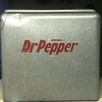 Dr Pepper Cooler - Advertising