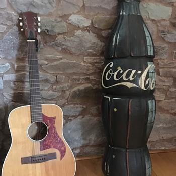 4ft Wooden Coca Cola sign vintage  - Coca-Cola