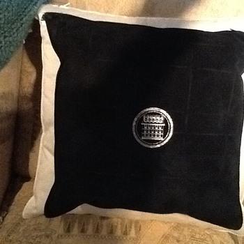 Suede Fendi Pillow - Furniture