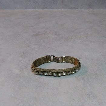 WEISS MESH BRACELET - Costume Jewelry