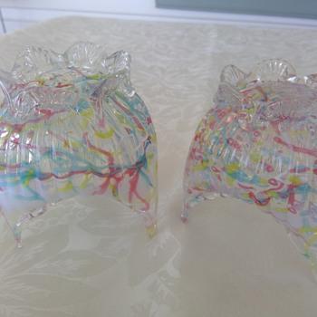 Kralik Peloton Vases - Art Glass