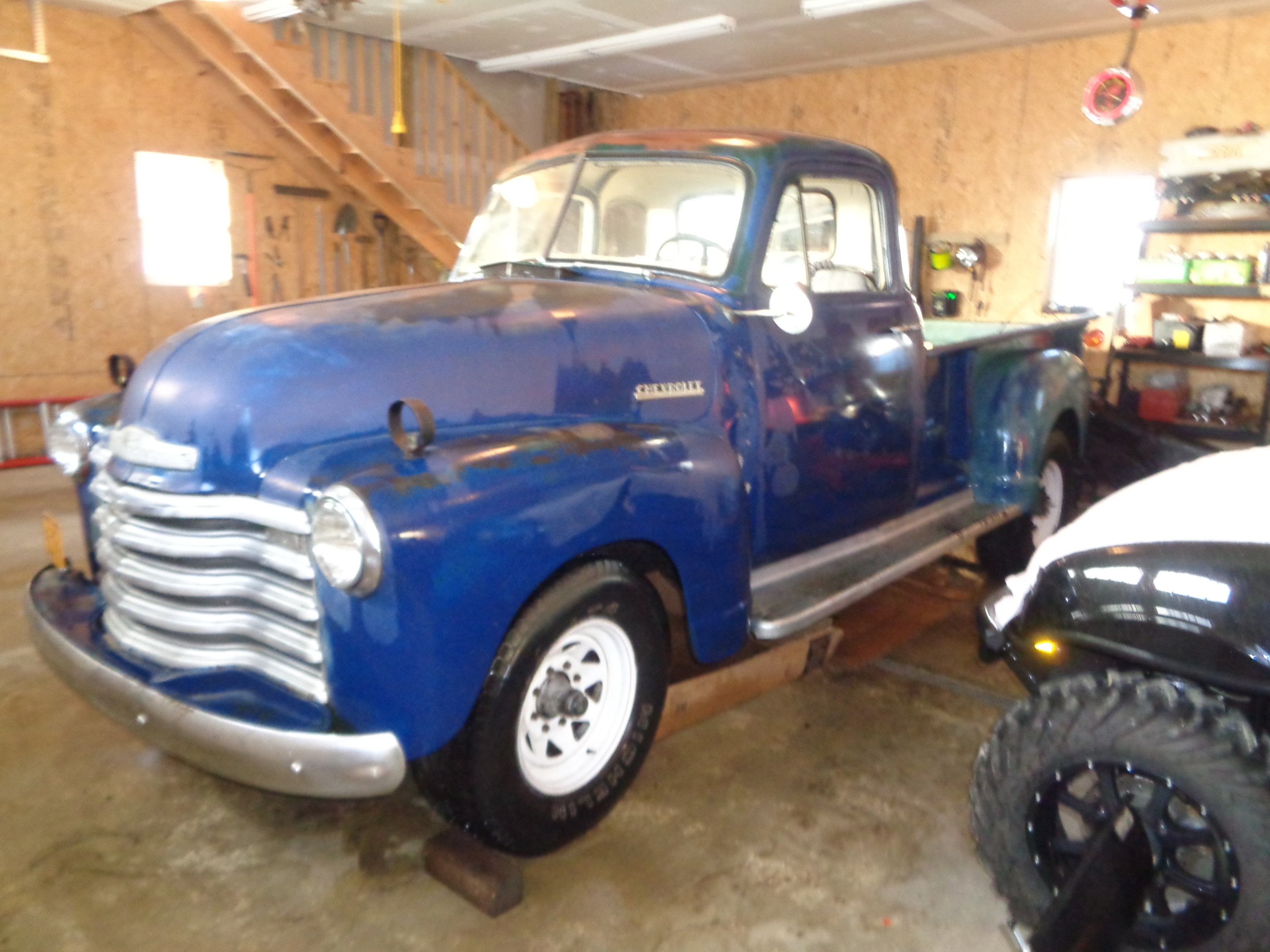 1951 Chevy 5 Window Pickup Truck Collectors Weekly Chevrolet 35