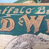 Buffalo Bills Wild West, American National Entertainment Wooden Carved  Sign