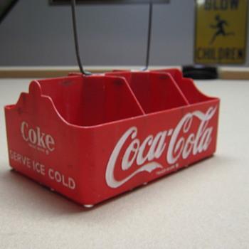 1950's Plastic Coca-Cola Six-pack Carrier