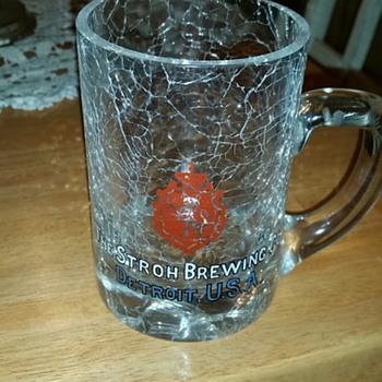 Grandma's Stroh's mug - Breweriana