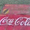 huge old coke signs