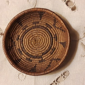 Miniature Paiute/Washoe Basket, circa 1900-1930 - Native American