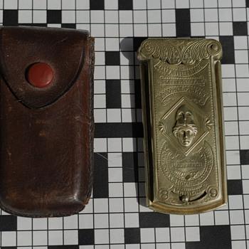 Minerva Quadruple lever casket needlecase - Sewing