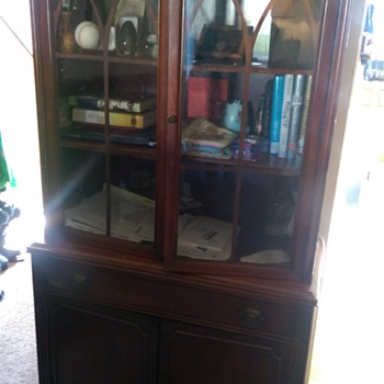 Passed down china cabinet