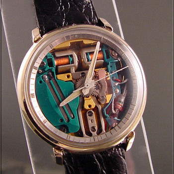 Bulova Accutron Spaceview Wristwatch - Wristwatches