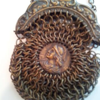 Antique mesh purse - Bags