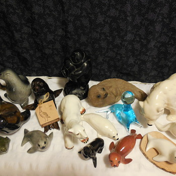 My Wife's Winter Artic Animal Figurine Collection - Animals