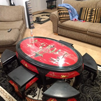 Japanese Ceremonial Tea Table - Asian