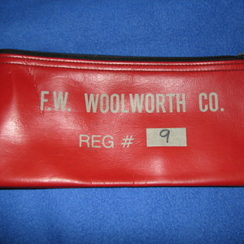 Woolworth Company Money Bag - Office