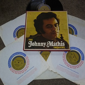 John Royce Mathis..Box Set..On 33 1/3 RPM Vinyl - Records