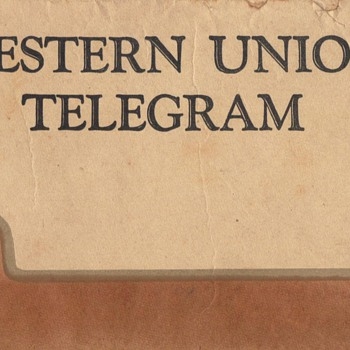 WESTERN UNION MAN - Paper