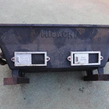 Hibachi portable grille