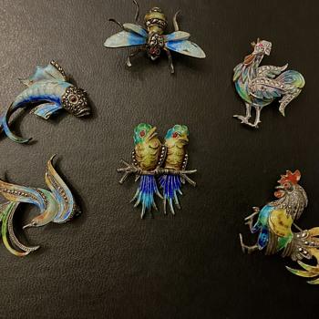 Alice Caviness animals - Costume Jewelry
