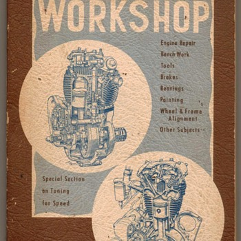 """Motorcyclist's Workshop"" - 1951 - Books"