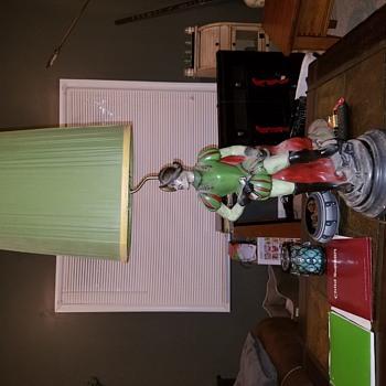 table lamp man - Lamps