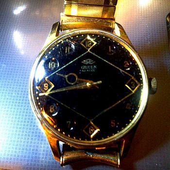 My father's Gruen watch. - Wristwatches