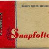 Ansco Photo Booklet.