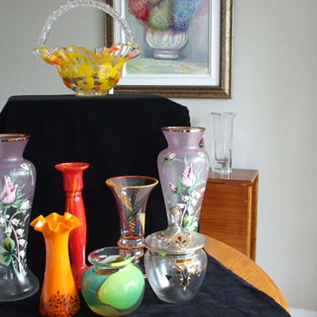 Very Exciting Community-Wide Street Sales pick ups! - Art Glass