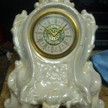 Made in germany, narco, pocelain clock - Clocks