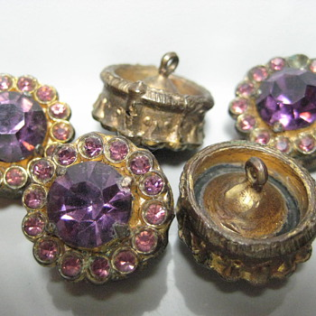 Antique Victorian Buttons - Victorian Era