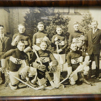 VINTAGE 1900's Rochester New York Hockey Photo - Photographs