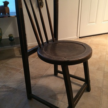 Chair with unusual legs - Furniture