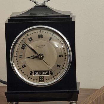 Art Deco Hammond - Clocks