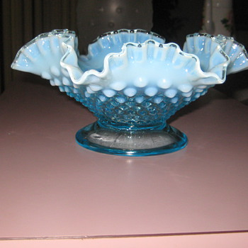 Depression glass dish  - Glassware
