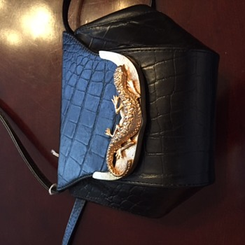 Vintage Purse and Scarf ??