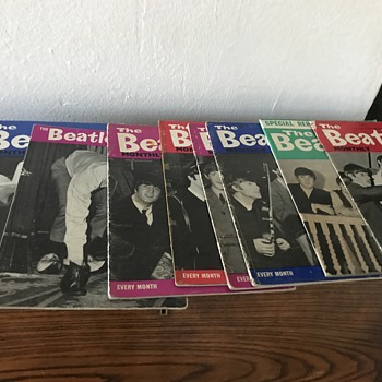 The Beatles Monthly Books - Music Memorabilia
