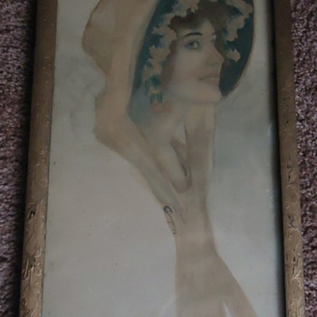Help Me Identify the Lady in the Bonnet - Posters and Prints
