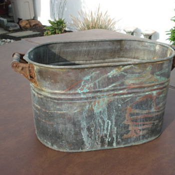 Old copper wash tub??? - Kitchen