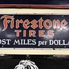 Firestone tire sign 3ft