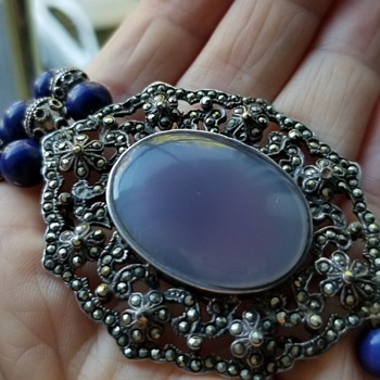 Brooch Converted into a Necklace - Art Deco
