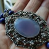 Brooch Converted into a Necklace
