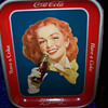 1950's Red Headed Girl - Rare Solid Background