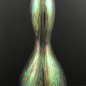Loetz Phänomen Genre Vase, PN II-1214, ca. 1904 - Art Glass