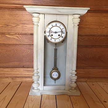 Antique regulator clock  - Clocks