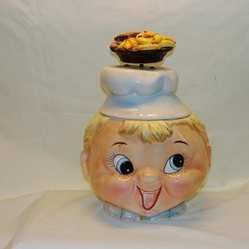 Musical Boy Chef Cookie Jar - Kitchen