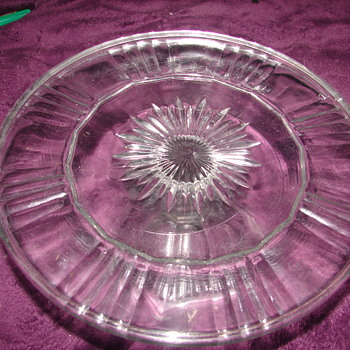 Unknown EAPG Cake Stand - Glassware