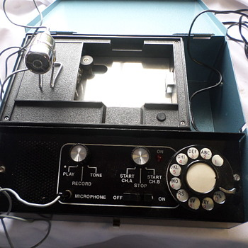 ELECTRONIC RECORDING DEVICE MYSTERY