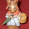 Austrian Cold Painted Bronze Mother Rabbit