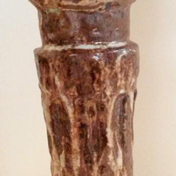 A Sad Vase will hopefully live again. A John Hess Vase... - Pottery