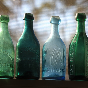 (-)====Old Southern Pontiled Soda Bottles====(-) - Bottles